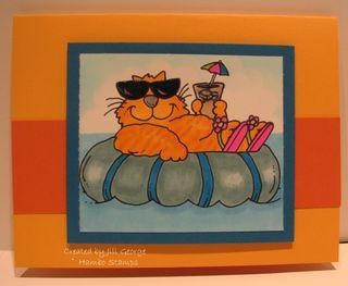 Cool Cat Orange Tabby